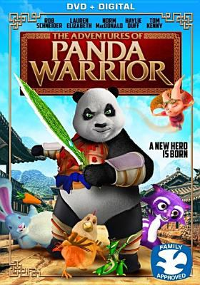 Cover image for The adventures of Panda Warrior