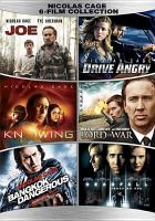 Cover image for Nicolas Cage 6 film collection : Deadfall, Joe, Drive Angry, Knowing, Lord of War, Bangkok Dangerous
