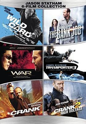 Cover image for Jason Statham 6-film collection Wild card ; The bank job ; War ; Transporter 3 ; Crank ; Crank 2, high voltage