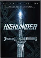 Cover image for Highlander 5-film collection.