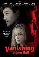 Cover image for The vanishing of Sidney Hall