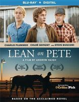 Cover image for Lean on Pete