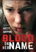 Cover image for Blood on her name