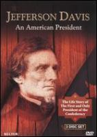 Cover image for Jefferson Davis an American president