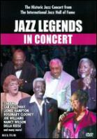 Cover image for Jazz legends in concert