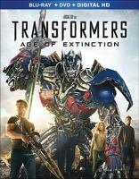 Cover image for Transformers : Age of Extinction