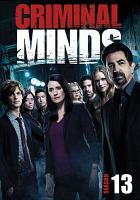 Cover image for Criminal minds The thirteenth season.