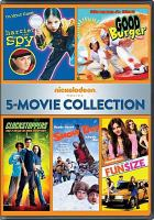 Cover image for Harriet the spy ; Good burger ; Clockstoppers ; Snow day ; Fun size