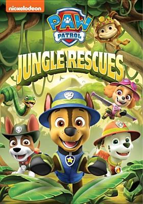 Cover image for Paw patrol Jungle rescues