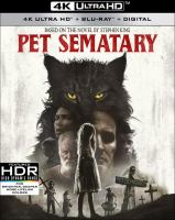 Cover image for Pet sematary