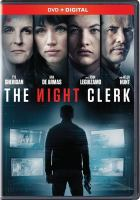 Cover image for The night clerk