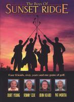 Imagen de portada para The boys of Sunset Ridge