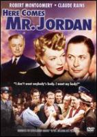 Cover image for Here comes Mr. Jordan
