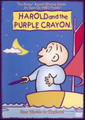 Cover image for Harold and the purple crayon. New worlds to explore!