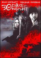 Cover image for 30 days of night