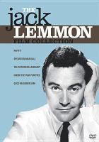 Cover image for The Jack Lemmon film collection