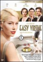 Cover image for Easy virtue