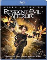 Cover image for Resident evil: afterlife