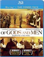 Cover image for Of gods and men