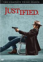 Cover image for Justified : the complete third season