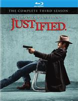 Cover image for Justified The complete third season