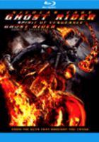 Cover image for Ghost Rider: spirit of vengeance
