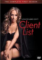 Cover image for The client list The complete first season.