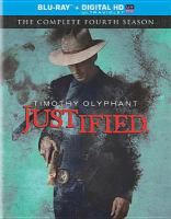 Cover image for Justified The complete fourth season