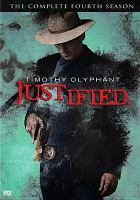 Cover image for Justified.  the complete fourth season
