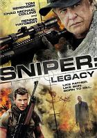 Cover image for Sniper: legacy