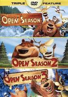 Cover image for Open season: Open season 2 ; Open season 3