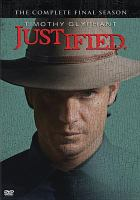 Cover image for Justified.  The complete final season