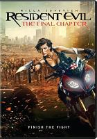 Cover image for Resident evil the final chapter