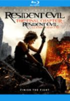 Cover image for Resident evil. The final chapter