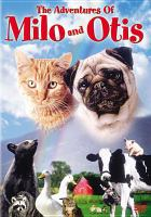 Cover image for The adventures of Milo and Otis