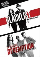 Cover image for The blacklist The complete fourth season ; The blacklist: redemption : Season one.