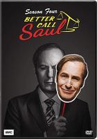 Cover image for Better call Saul Season four.