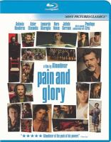 Cover image for Pain and glory Dolor y gloria