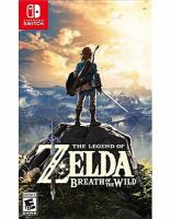Cover image for The Legend of Zelda. Breath of the wild