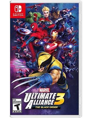 Cover image for Marvel ultimate alliance 3 the black order