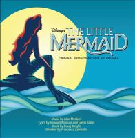 Cover image for Disney's The little mermaid original Broadway cast recording