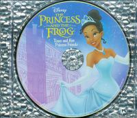 Cover image for The princess and the frog. Tiana and her princess friends