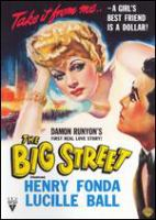 Cover image for The big street