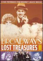 Cover image for Broadway's lost treasures II