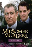 Cover image for Midsomer murders Set 10