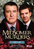 Imagen de portada para Midsomer murders Set 16