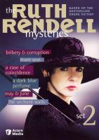 Imagen de portada para The Ruth Rendell mysteries. Set 2