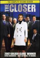 Cover image for The closer The complete second season