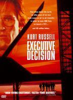 Imagen de portada para Executive decision