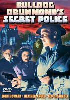 Cover image for Bulldog Drummond's secret police